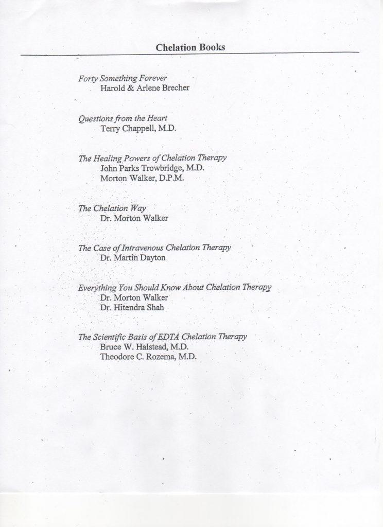 Ronald P  Ciccone, MD PC - Chelation